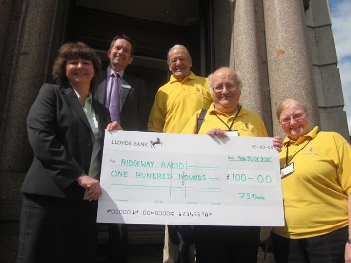 Donation from Lloyds Bank photo