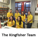 Photo of The Kingfisher Team
