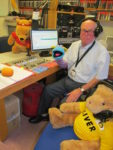 Photo of Jim in studio on Children In Need day