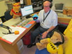 Photo of Jim and friends in studio on Children In Need day