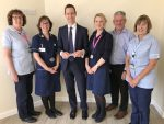 PHOTO: Orthopaedic surgeon Tim Crook, third from left, with the DCH GRIP 2 clinical trial team