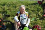 Brian Pursall oldest participant to cycle 54 miles