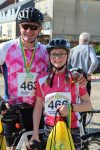 Merida Pearce youngest participant to cycle 54 miles aged 12